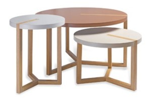 Tables basses triolet collection first time eggenberger meubles - Soldes tables basses ...