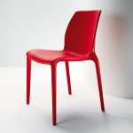 Chaise Hydra rouge Bontempi